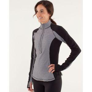 Lululemon Run U-Turn Half Zip Reversible Pullover